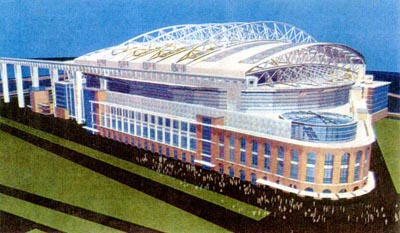 Stadiumpage Blog Unrealized Concepts Volume 1 Mets Dome