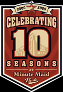 Minute Maid Park 10th Anniversary