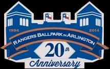 Rangers Ballpark in Arlington 20th Anniversary