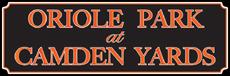 Oriole Park at Camden Yards Text logo