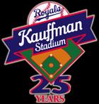 Kauffman Stadium 25th Anniversary