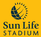 SunLife Stadium or Dolphin Stadium or Landshark Stadium or Dolphins Stadium or Pro Player Stadium or Pro Player Park or Joe Robbie Stadium or.....