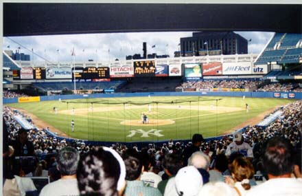 Home plate view
